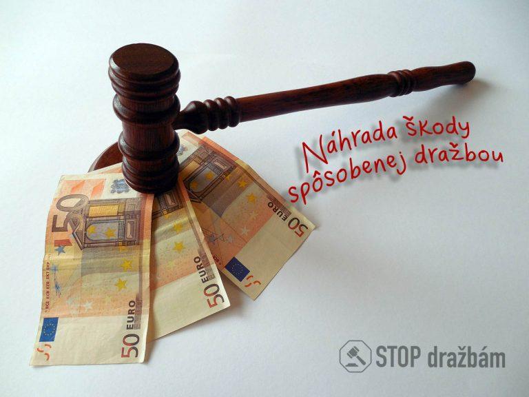 Nárok na náhradu škody po nezákonnej dražbe nehnuteľnosti
